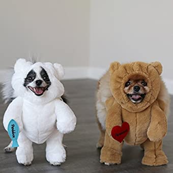 85bd10bd6accc3 Pandaloon Panda Puppy Dog and Pet Costume Set - AS SEEN ON Shark Tank -  Walking Teddy Bear with Arms - Doggie Desires