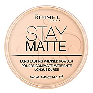 Rimmel London Stay Matte Polvos prensados larga - 006 Warm Beige