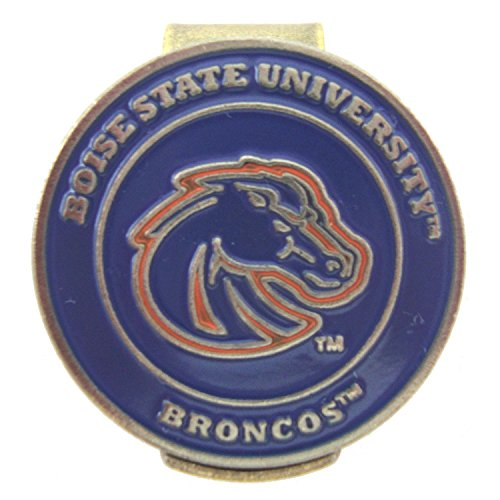 - Boise State Broncos Golf Hat Clip with Double-Sided Ball Marker