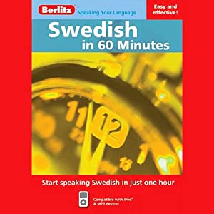 Swedish in 60 Minutes Audiobook