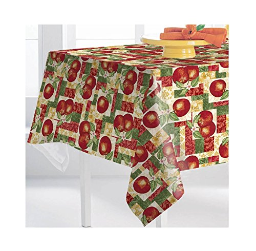 Premium Tablecloth, Spill Proof and Waterproof for Outdoor or Indoor Use, Host Backyard Parties, BBQs, & Family Gatherings (60