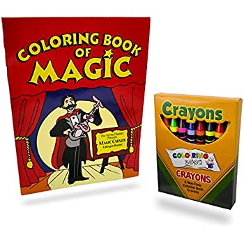 Magic Makers Coloring Book Vanishing Crayons By The Books Images Magically Change Disappear From Their Box Into Thin Air