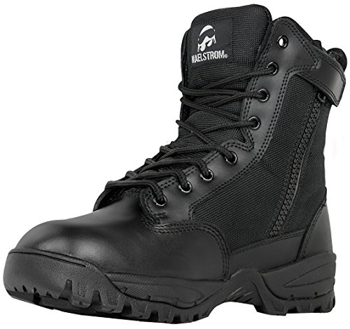 TAC Black Waterproof Zipper W Boot FORCE with Insulated 10 Tactical Military US Work Inch 8 Maelstrom Men's Duty R46ww5
