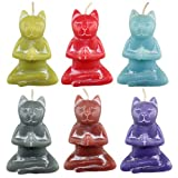Set of 6 Nirvana Cat Candle Colors