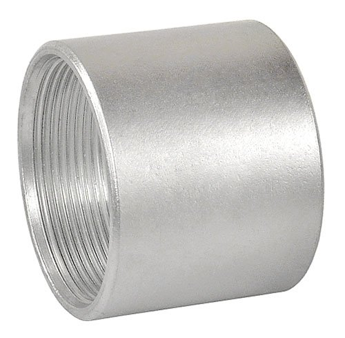 3/4 Inch Galvanized Rigid Threaded Coupling-10 per case (Coupling Rigid Conduit Coupling)