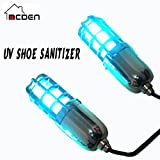 McDen Ultraviolet (UV) Shoe Sanitizers Kill Germs Fungi Footwear Dryer Warmer Shoes Deodorant