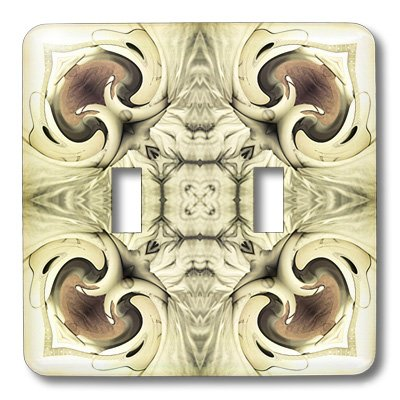 3dRose lsp_42062_2 Double Toggle Switch with Elegant Gemstone Decorative Clearing Box Mandala