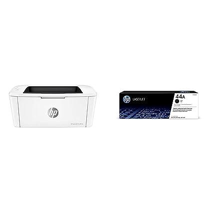 HP Laserjet Pro M15w SHNGC-1700-01 - Impresora láser (USB 2.0, WiFi, 18 ppm, Memoria de 8 MB, Wi-Fi Direct y aplicación HP Smart) + Cartucho de tóner ...