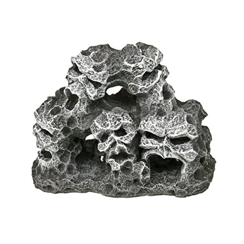 Blue Ribbon EE-438 Small Mountain Pile Exotic Environments Aquarium Ornament -