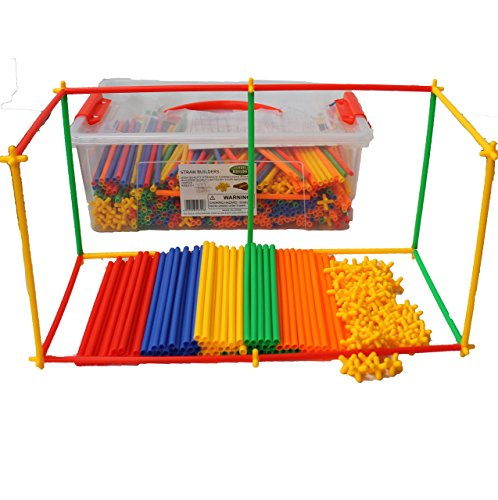 Straws Builders FREE plastic container product image