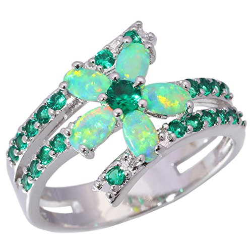 gem ring size 5 - 3