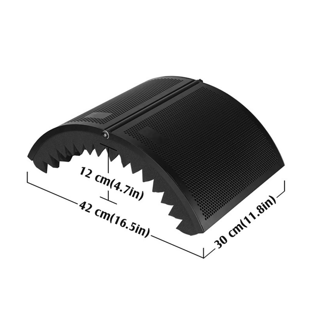 gazechimp Escudo De Aislamiento Del Micr/ófono Plegable Ajustable Grabaci/ón De Estudio Panel Aislador De Micr/ófono Para Equipos De Micr/ófono De Condensador