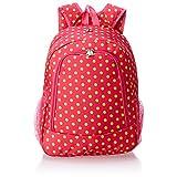 World Traveler Multipurpose Backpack 16-Inch, Fuchsia Lime Dot, One Size