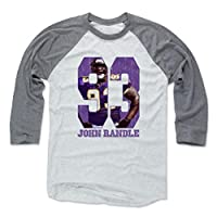 500 LEVEL's John Randle Baseball Shirt - Vintage Minnesota Football Fan Gear - John Randle Game