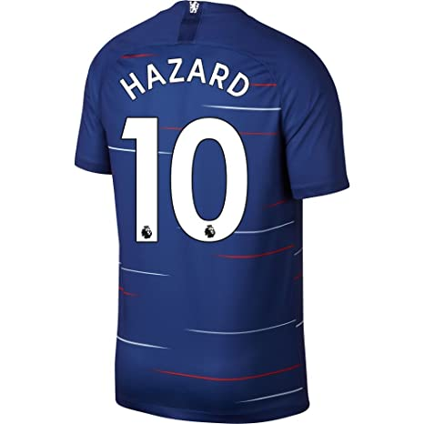 b86bb1534 NIKE Chelsea Home Hazard 10 Jersey 2018 2019 (Authentic EPL Printing) - S