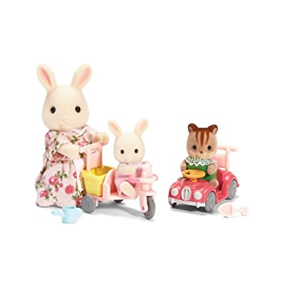 Calico Critters Apple & Jake's Ride n Play: Toys & Games