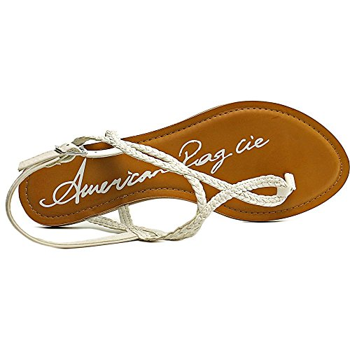 American Rag Womens Keira Open Toe Casual T-Strap Sandals White yEi3TLzNMy