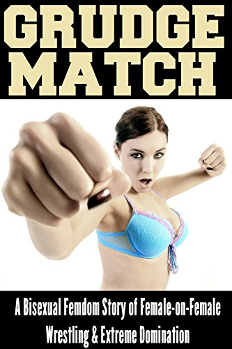 Bisexual woman wrestling