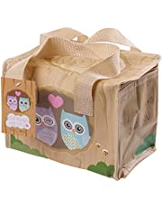 Love Owl Woven cool bag lunch box