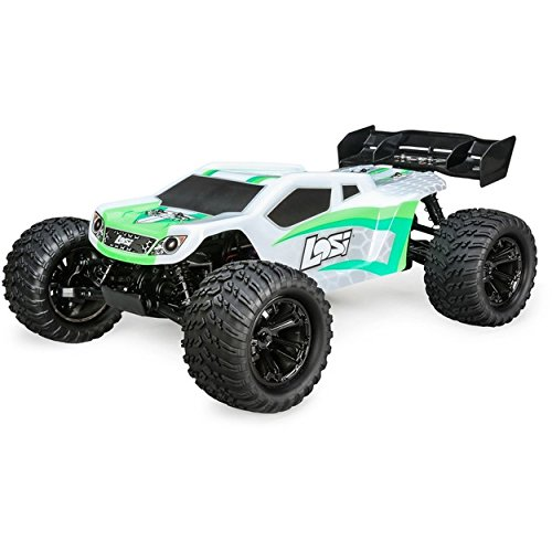 Team Losi 1/10 Tenacity-T 4WD Truggy Brushless RTR with AVC, White/Green from Team Losi