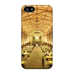 Defender Case For Iphone 5/5s, Harper Memorial Library U Of Chicago Pattern