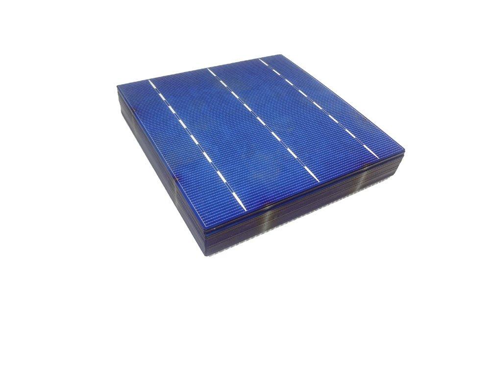 MISOL 60 pcs of Poly Solar Cell 6x6 4.3w, GRADE A, polycrystalline cell, DIY solar panel, for DIY solar module/polykristalline Solarzelle f¨¹r Solarpanel Solarmodul