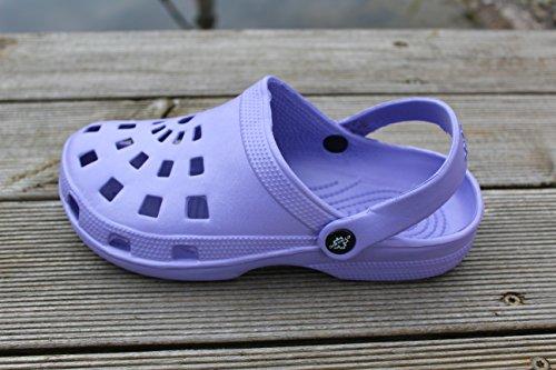 Dynamic, Mules pour Femme violet Violett