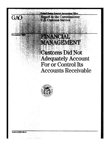 Financial Management: Customs Did Not Adequately Account For or Control Its Accounts Receivable