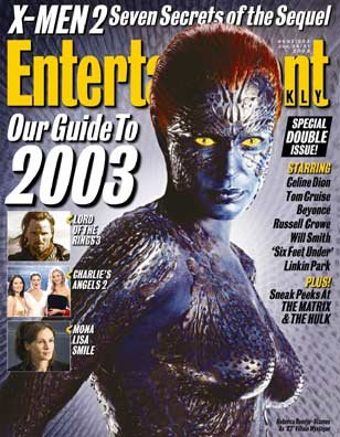 Download Entertainment Weekly Magazine #692/693 : Guide to 2003 featuring X-Men 2 (January 24, 2003) PDF