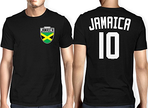 Mens Jamaica Jamaican Football T shirt