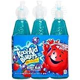 Kool-Aid Bursts Fruit Juice, Berry Blue, 6.75 Fl Oz, 6 Count (Pack of 2)