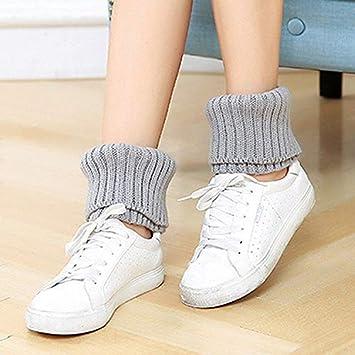 Calcetines largos Japonés y coreano calcetines de otoño e invierno, botas cortas para mujeres,