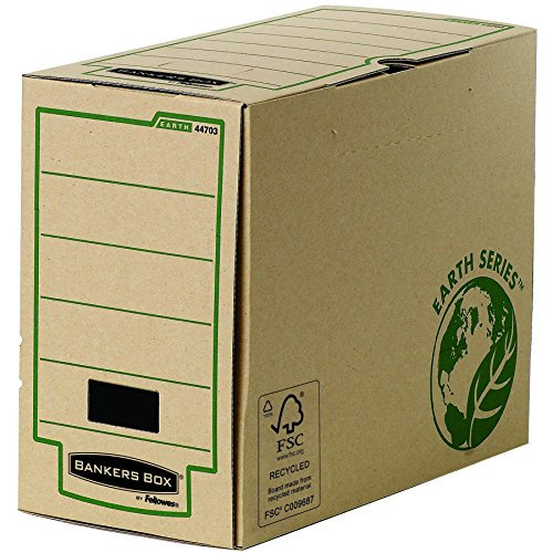 Bankers Box Earth Series 150 mm Wide Transfer File, A4 Size - Pack of - Series Fellowes Earth