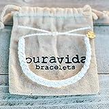 Pura Vida Solid White Braided Bracelet