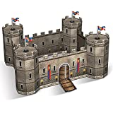 Party Central Club Pack of 12 Decorative Medieval Birthday 3-D Castle Centerpiece 9""