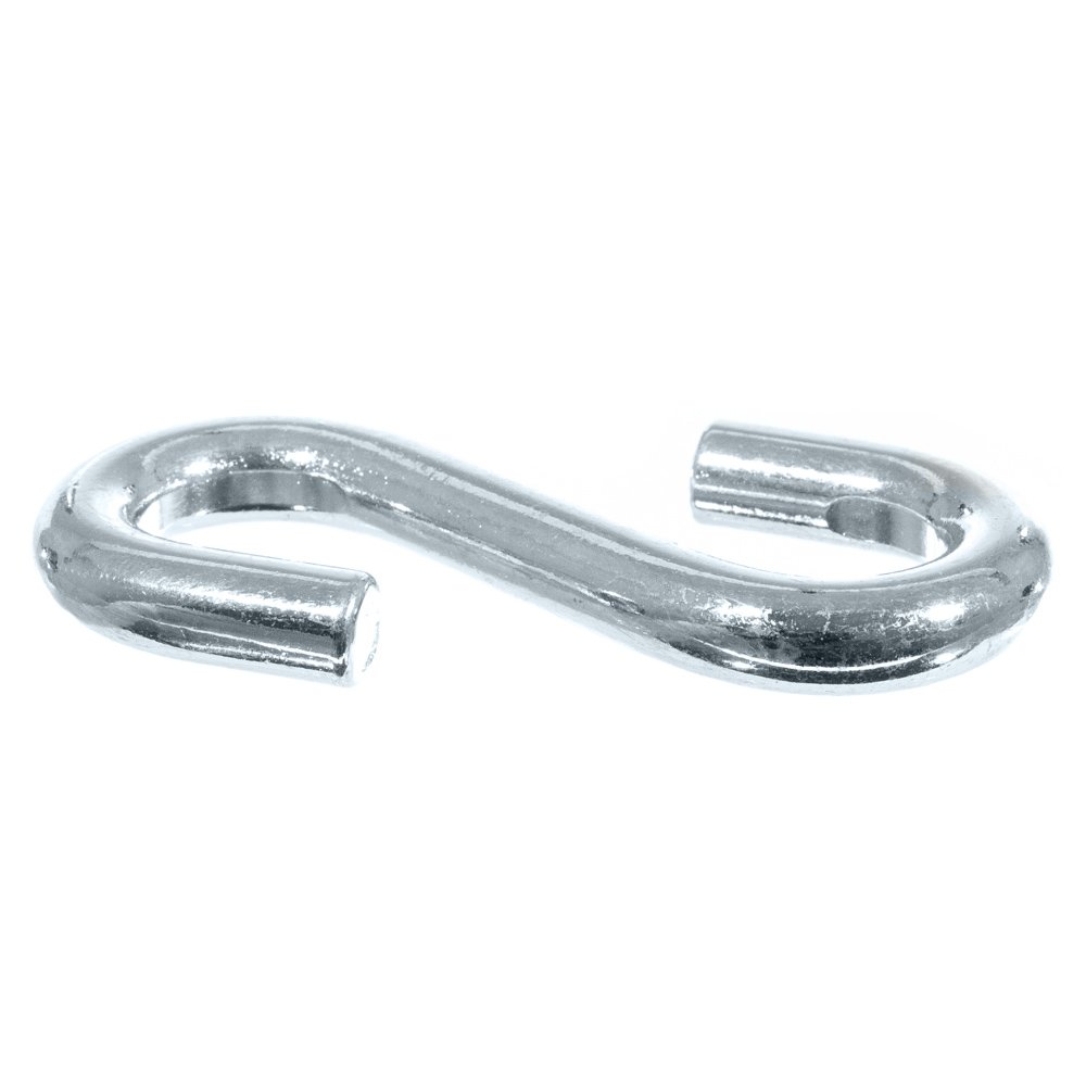 GOLBERG S-Hooks – 1/8, 1/4, 9/32, 5/16, 3/8 inch – Various Pack Sizes Available