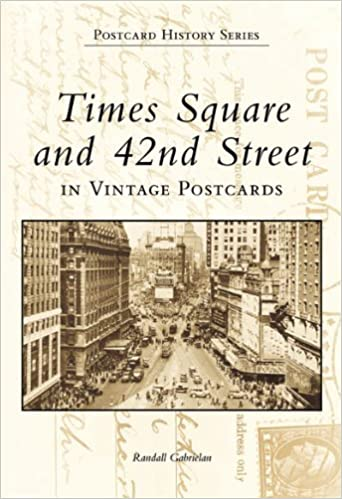 times square and 42nd street in vintage postcards postcard history