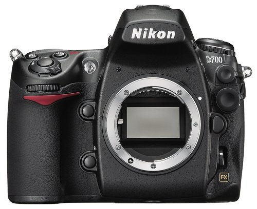 Nikon D700 12.1MP FX-Format CMOS Digital SLR Camera with 3.0-Inch LCD (Body Only) - International Version (No Warranty)
