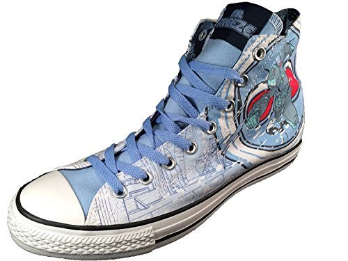 d2c55d53699ec4 Converse Dc Comics Mr. Freeze Batman Villain Sneakers Chuck Taylor 6 B(M)  US Women   4 D(M) US Men  Buy Online at Low Prices in India - Amazon.in