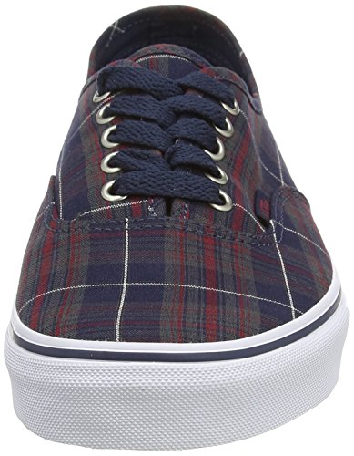 Blues Vans Blues Vans Authentic Dress Plaid Plaid Dress Authentic 5EHqz