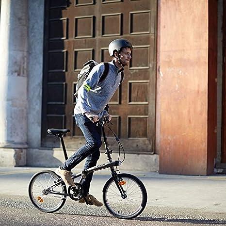BTWIN,Bicicleta plegable,2017, Gris, Entrega 48 horas, MARTIbikes#: Amazon.es: Deportes y aire libre
