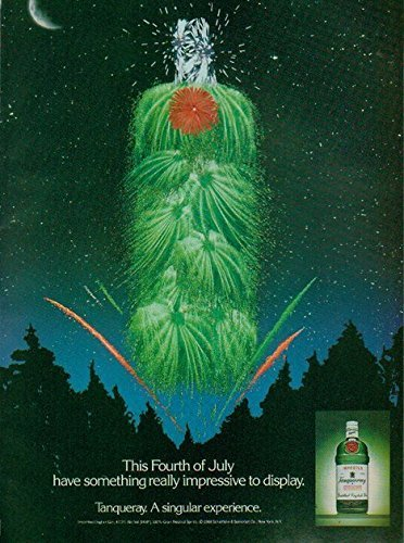 print-ad-for-tanqueray-gin-1989-fourth-of-july-firework-bottle-print-ad
