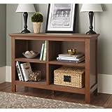 Spring Street 10 Burlington Collection Horizontal Bookcase, (Walnut) Review