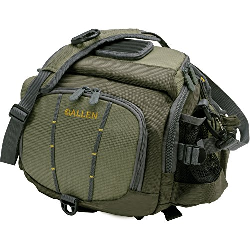 Allen Colorado River Guide Lumbar Fishing Pack, Olive (Guide Net Fishing Fly)