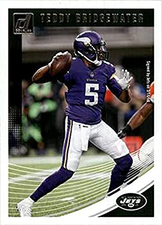 outlet store c194c 20913 Amazon.com: Teddy Bridgewater 2018 Donruss Football 48 Card ...
