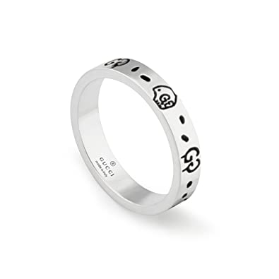 c10fa5314 Amazon.com: GUCCI GHOST ring 6(US) -L(UK) YBC477339001012: Jewelry