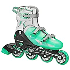 Adults and youth with growing feet will love the V-Tech 500. The inline skates adjust from adult size 6 to 9 at the push of a button. Three buckles make the skates easy to put on and take off, and provide a solid level of comfort and support....
