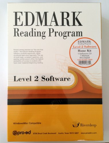 Edmark Reading Program Level 2 Software Homekit