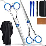 Best Hair Cutting Scissors - Hair Cutting Scissors/Thinning Shears/Hairdressing Scissors/Professional Barber/Salon Razor Edge Review