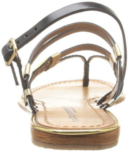 Noir par Gold Belarbi Tropéziennes M Women's Les Sandals Cumin 658 Or wqPzx7
